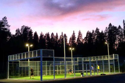 Skellefteå Tennisklubb Padel Tennis Nyhet Padel Ute 1