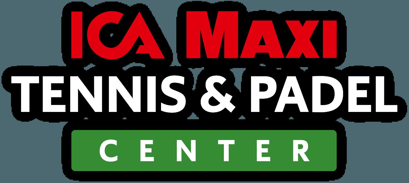 ICA Maxi Tennis Padel Center logo farg vit text skugga 2